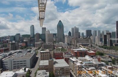 Magnifiques vues à partir de nos condos District Griffin!