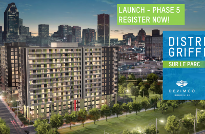 Launch of District Griffin sur le Parc - Phase 5