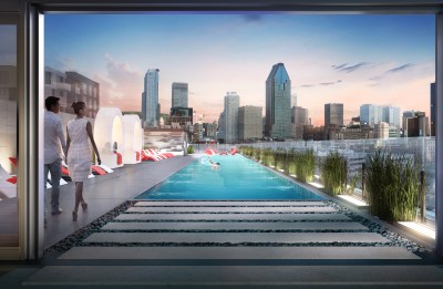 THE LONGEST SWIMMING POOL IN GRIFFINTOWN, DISTRICT GRIFFIN HAS IT!