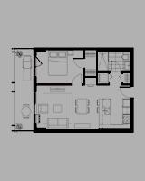 Plan condo modele I.1