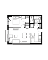 Plan condo modele I.2