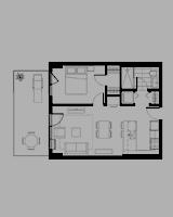 Plan condo modele I.3