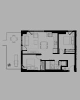Plan condo modele L.2