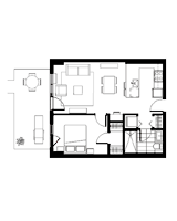 Plan condo modele M.2