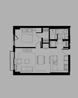 Plan condo modele P.1