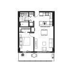Plan condo modele A.2′