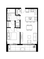 Plan condo modele A.2.1 Option2