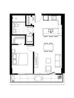 Plan condo modele A.2.2′