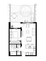 Plan condo modele A.3.3