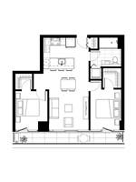 Plan condo modele B.2′