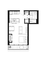 Plan condo modele S.6