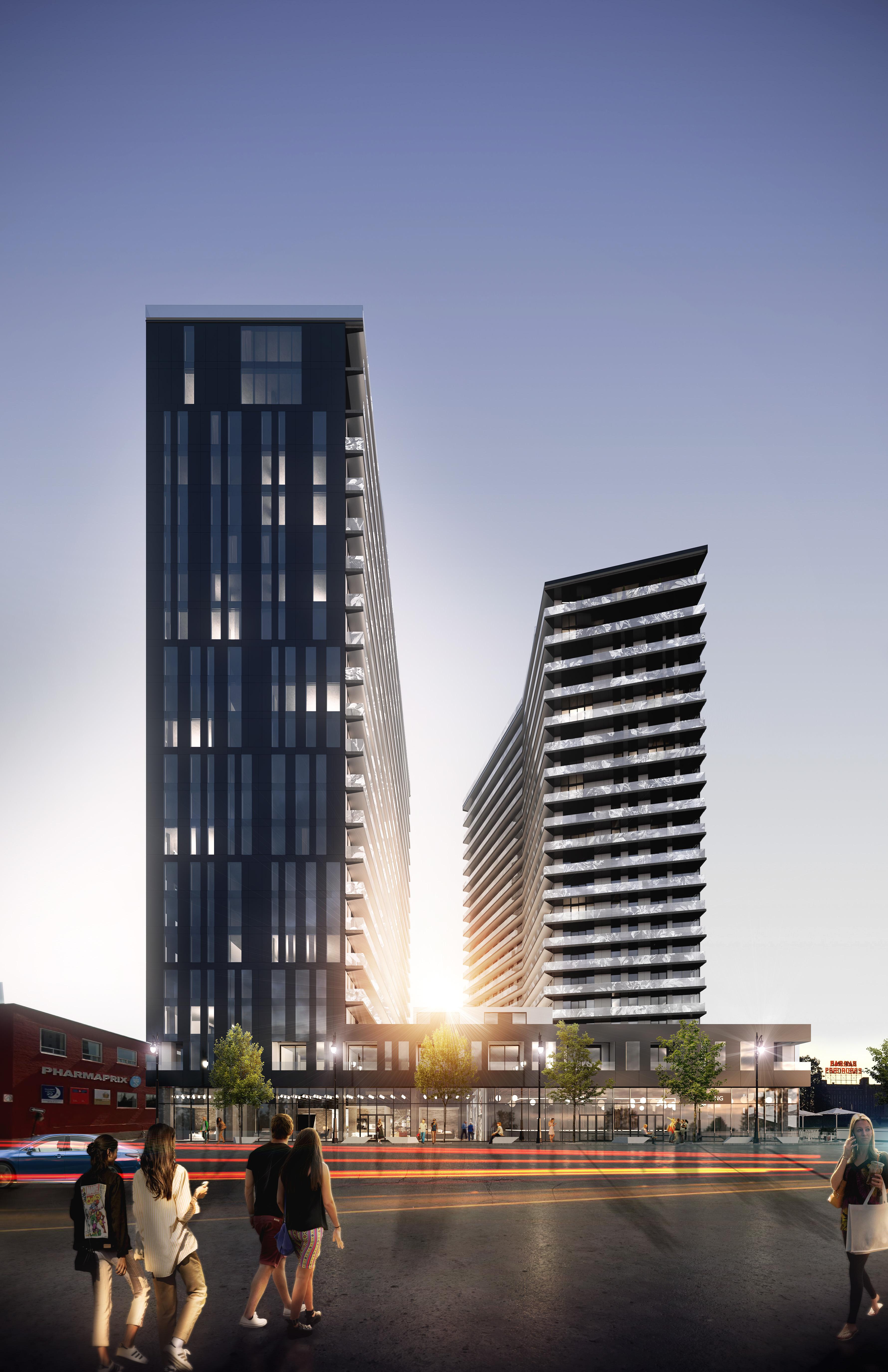 Devimco Immobilier lance un concours pour l'intégration d'une œuvre d'art de 21 étages à son projet MaryRobert