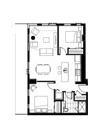 Plan condo modele SB1.1