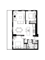 Plan condo modele SB1