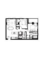 Plan condo modele SB2
