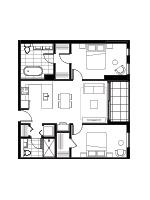 Plan condo modele SB3