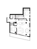 Plan condo modele SB5