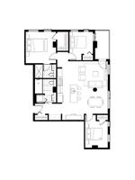 Plan condo modele SC1
