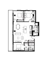 Plan condo modele SC2