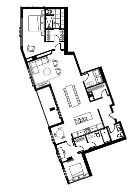 Plan condo modele PP3