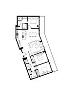 Plan condo modele PP2