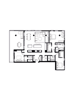 Plan condo modele SP1