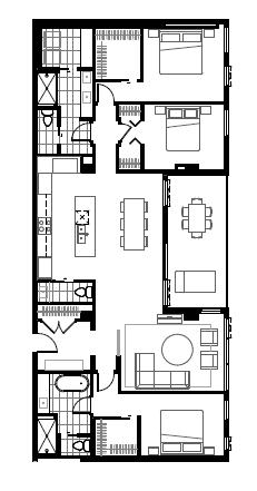 Plan condo modele SP2