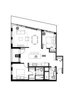Plan condo modele PB1.1