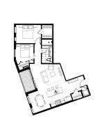 Plan condo modele PB3