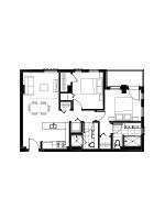 Plan condo modele SB2.1